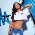 Anitta participou do programa 'Seca Você', da ex-BBB Mayra Cardi. A coach estimou em 10 os kilos perdidos pela cantora