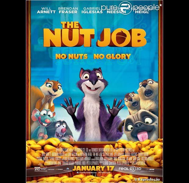 Capa O que será de nozes? Dublado (The Nut Job) Torrent Legendado 162593 o 620x0 1