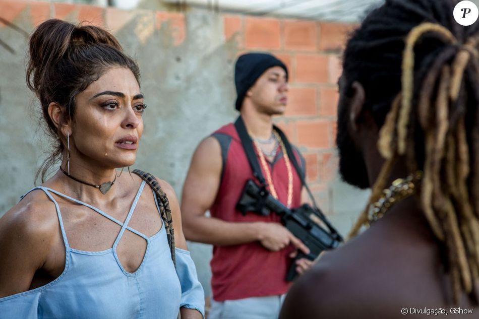 Juliana Paes revelou o truque para desinchar os olhos após as cenas de choro na novela 'A Força do Querer'