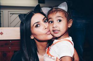 Kim Kardashian se declara para a filha em aniversário de 4 anos: 'Minha luz'