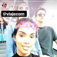 Ex-BBB Mayara Motti curte dia de compras com Vivian Amorim e Manoel Rafaski