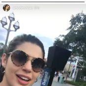 Ex-BBB Vivian Amorim curte parques da Disney com Manoel Rafaski e Mayara Motti