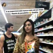 Ex-BBB Vivian Amorim dança 'Paradinha' em supermercado nos EUA. Vídeo!