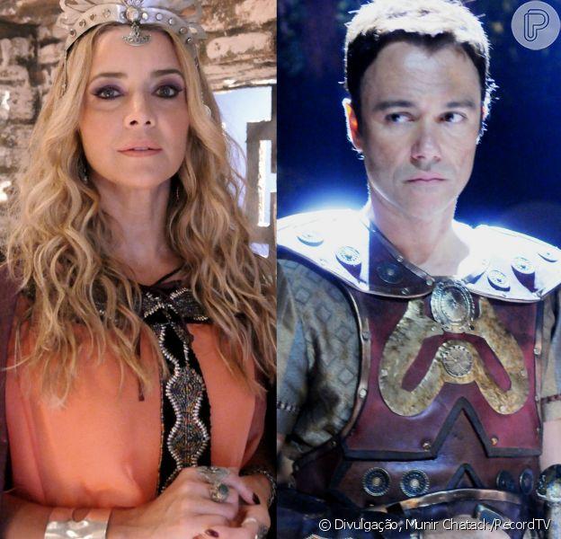 Sammu-Ramat (Christine Fernandes) decide deixar sacerdócio para se casar com Nebuzaradã (Angelo Paes Leme), nos próximos capítulos da novela 'O Rico e Lázaro'