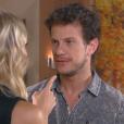 Em casa, Nicole (Dani Gondim) diz a (Eduardo Pelizzari) que deseja que Dulce Maria (Lorena Queiroz) fique em um colégio interno o resto da vida, na novela 'Carinha de Anjo'