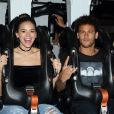 Bruna Marquezine, antes de embarcar para África, estava em Los Angeles com Neymar
