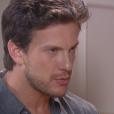 Flávio (Eduardo Pelizzari), ao contar a Nicole (Dani Gondim) que Gustavo (Carlo Porto) descobriu a verdade sobre ela e acredita que a filha está sendo sequestrada, a aconselha a fugir, no capítulo que vai ao ar terça-feira, dia 27 de junho de 2017, na novela 'Carinha de Anjo'