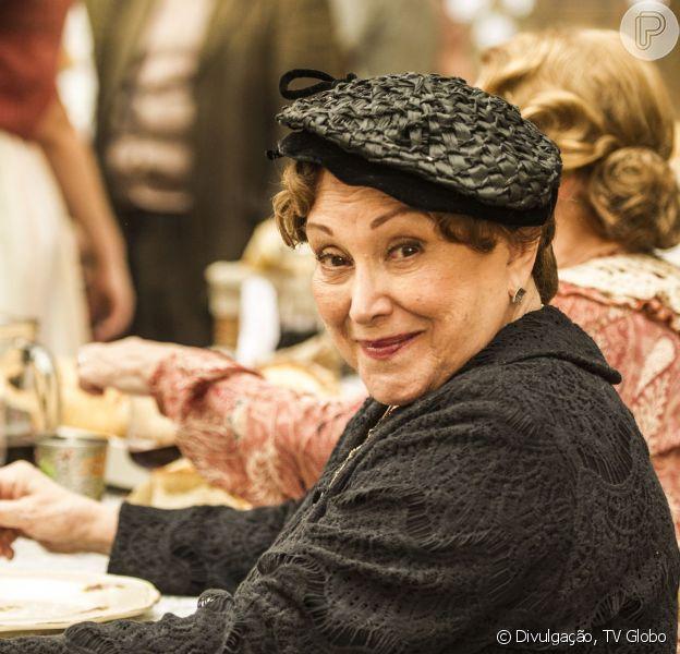 Nicette Bruno voltará à 'Joia rara' nas cenas finais da novela, em 27 de março de 2014