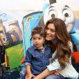 Juliana Paes sobre boa forma:' Meus filhos me ajudam muito'