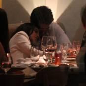 Mariana Rios janta com o namorado, Patrick Bulus, em restaurante no Leblon, RJ