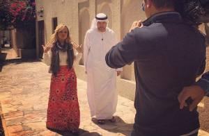 Após separação, Eliana viaja para Dubai e visita suíte de R$ 48 mil por noite