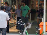 Fernanda Lima e Rodrigo Hilbert fazem compras com os filhos em Ipanema, no Rio