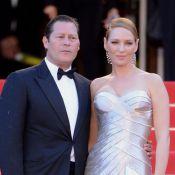 Uma Thurman termina noivado com multimilionário Arpad Busson: 'Continuam amigos'