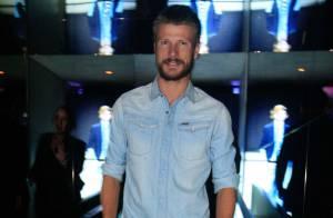 Rodrigo Hilbert é destaque em noite de festa de roupas em São Paulo