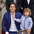 Orlando Bloom é pai de Flynn, de três anos