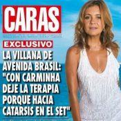 Sucesso na Argentina como Carminha, Adriana Esteves é capa de revista no país