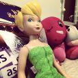 Jullie dá voz à fada Tinker Bell, na versão brasileira da animação da Disney
