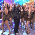 Thiaguinho canta seus sucessos no 'Domingão do Faustão'