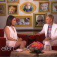 Mila Kunis participa do programa da Ellen Degeneres especial Dia das Mães, em 9 de maio de 2014