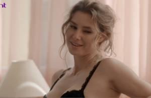 Lavínia Vlasak volta à TV após dois anos e protagoniza cenas de sexo em série