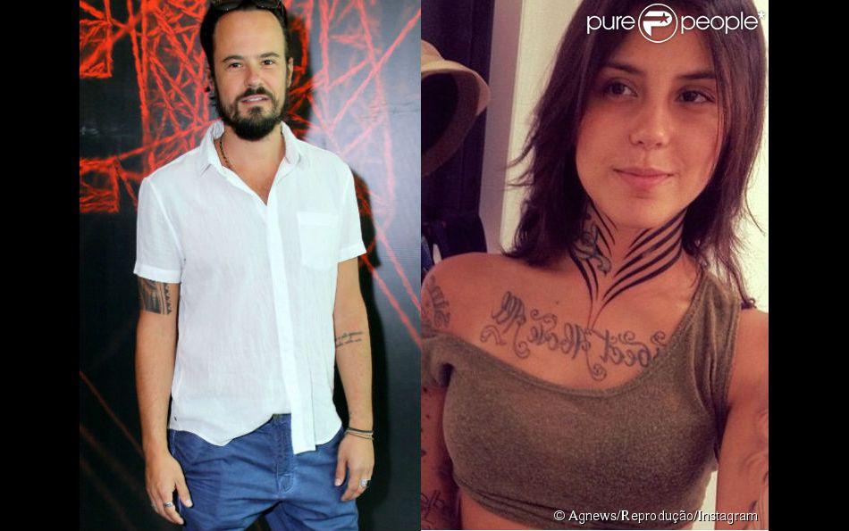 Paulinho Vilhena e a tatuadora carioca Thais Valente estão namorando