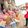 A Guatemala é o segundo destino que Grazi Massafera viajou para gravar 'Flor do Caribe'; para lá ela também levou sua filha, Sofia
