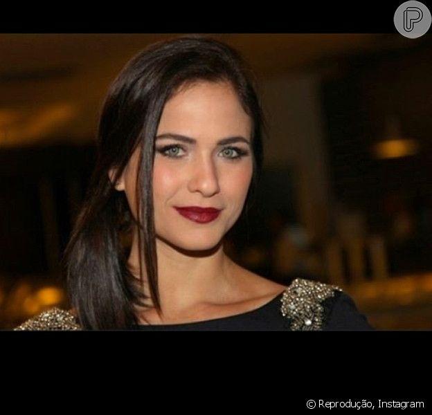 Luiza Valdetaro afirmou que está bem apesar da separação