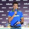 Rodrigo Faro apresenta evento da Gillette em São Paulo