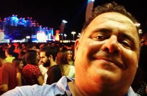 Leo Jaime conta que teve mala revirada e furtada em aeroporto do Rio: 'Absurdo'