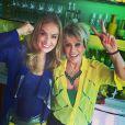 As apresentadoras Angélica e Ana Maria Braga deram várias dicas de decoração e combinações no look para a Copa do Mundo