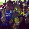 Se depender da torcida do Rodrigo Faro, o Brasil já é Hexa!