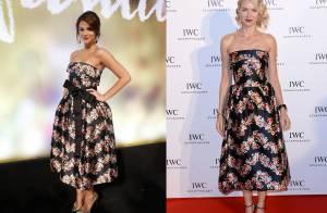 Batalha de looks: confira famosas que usaram os mesmos modelitos