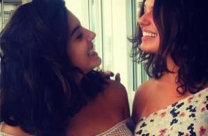 Isis Valverde mostra semelhança com Giovanna Lancellotti em foto no Instagram