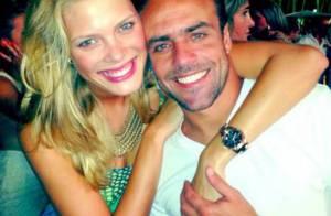 Roger Flores sobre dia dos namorados na Copa:'Já avisei Betina, dia de trabalho'