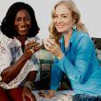 Glória Maria contou para Angélica um de seus segredos para sua pele perfeita: chá de ninho de passarinho
