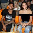 Bruna Marquezine está em Paris para comemorar o aniversário de Neymar, que completa 26 anos na próxima segunda-feira, 5 de fevereiro de 2018