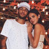 Bruna Marquezine presenteou Neymar com meias: 'Com estampa engraçada'