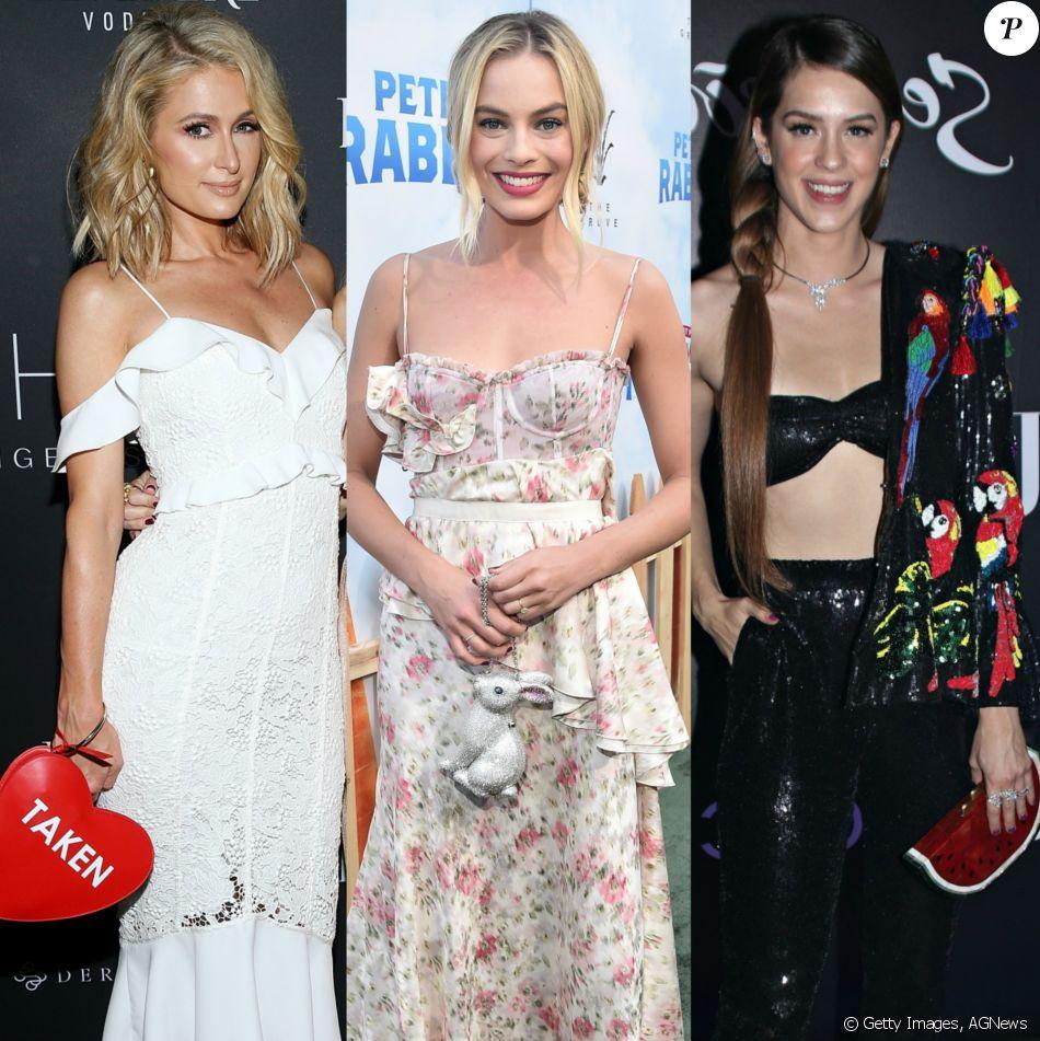 As bolsas divertidas têm sido aposta de famosas como Paris Hilton, Margot Robbie e Sophia Abrahão. Confira na galeria!