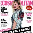 Claudia Leitte é capa da revista 'Cosmpolitan' de fevereiro