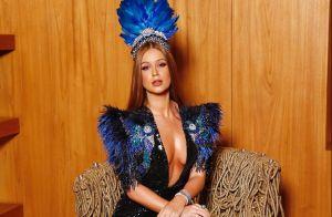 Baile da Vogue: Marina Ruy Barbosa usa sapato limitado Louboutin de R$ 13 mil