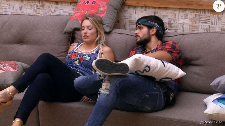 'BBB18': Jéssica e Lucas tem nova discussão após indireta de Naiara Azevedo