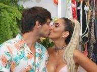Jade Seba beija o namorado, Bruno Guedes, em sua festa de aniversário. Fotos!