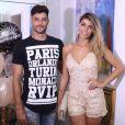 Jade Seba recebeu ainda o casal Fran e Diego, do 'BBB14'