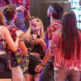 Naiara Azevedo minimiza 'bronca' em Lucas, do 'BBB18': 'Uma brincadeira'
