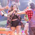 Naiara Azevedo se surpreendeu com a energia no 'BBB18': 'Um show sempre aquela ansiedade, mas uma diferença de se apresentar na casa é que eu sempre quis cantar no programa, sempre acompanhei'