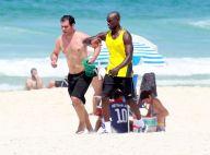 Thiago Lacerda treina na praia por corpo fortalecido para 'Orgulho e Paixão'