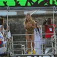 Claudia Leitte se emocionou no primeiro dia de Carnaval em Salvador