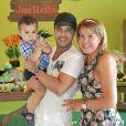 Muito família, Zilu é apaixonada pelo neto, José Marcus, primogênito de Wanessa