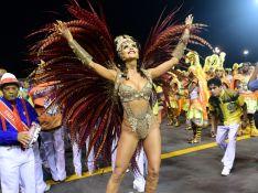 Daniela Albuquerque, rainha da Tucuruvi, jantou 2x antes de desfile: 'Como bem'