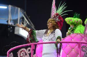 Alcione é homenageada em desfile da Mocidade Alegre: 'Melhor sensação do mundo'